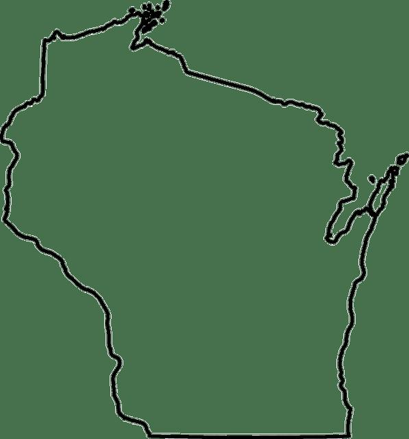 visconsin mapa