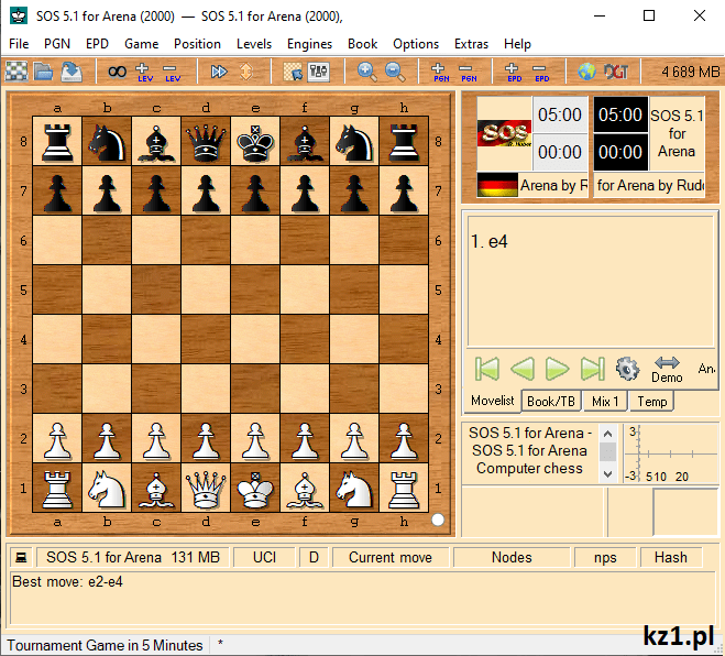 gra arena szachy