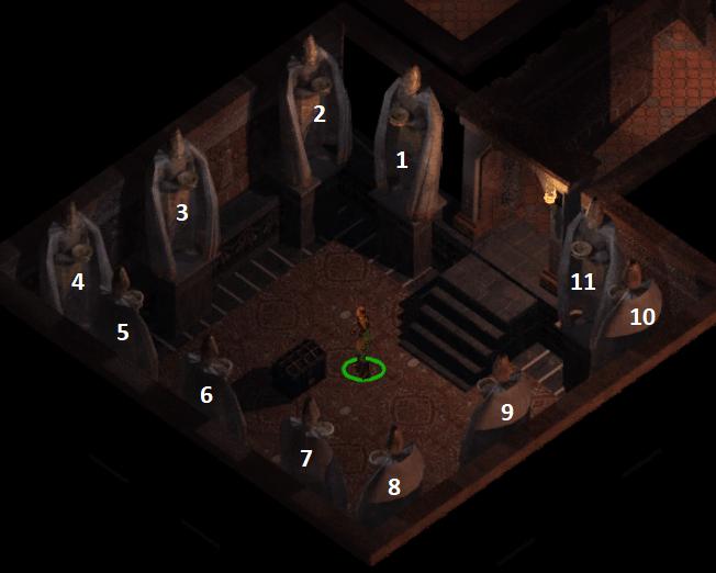 jak umieścić przedmioty w czarowięzach baldurs gate