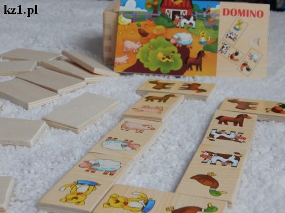 pierwsze domino dla dziecka domino drewniane