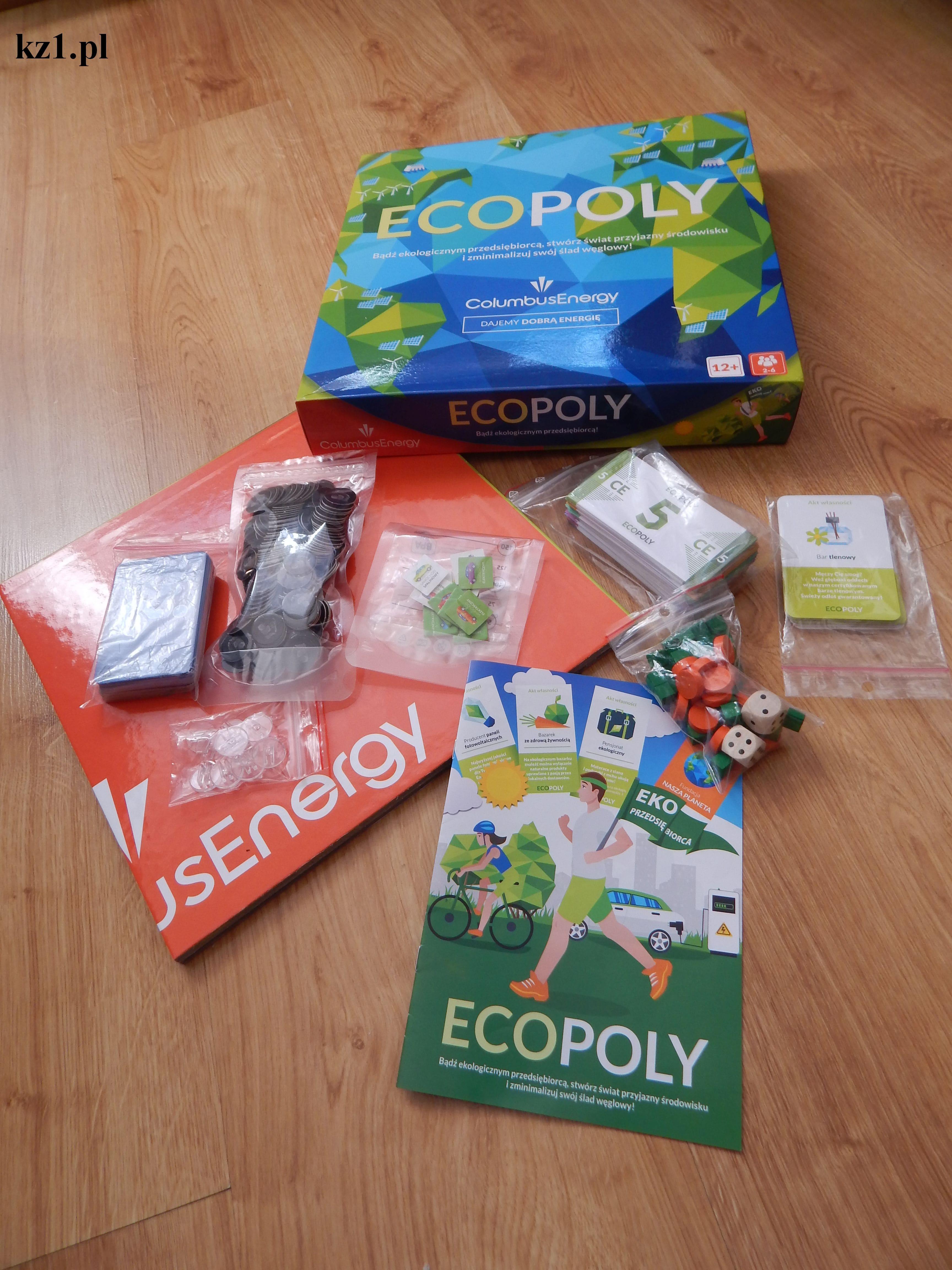 gra planszowa ecopoly