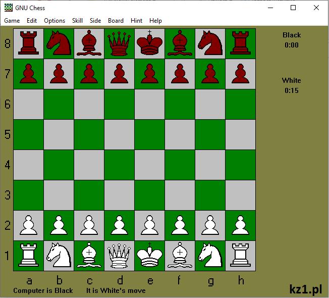 gra gnu chess