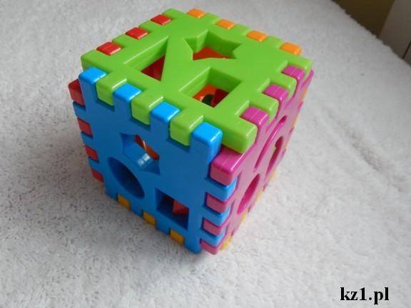 kostka edukacyjna gra dla dzieci