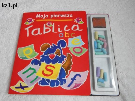 moja pierwsza tablica książka dla dzieci