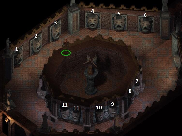 statua zagadek w czarowiezach baldurs gate 2
