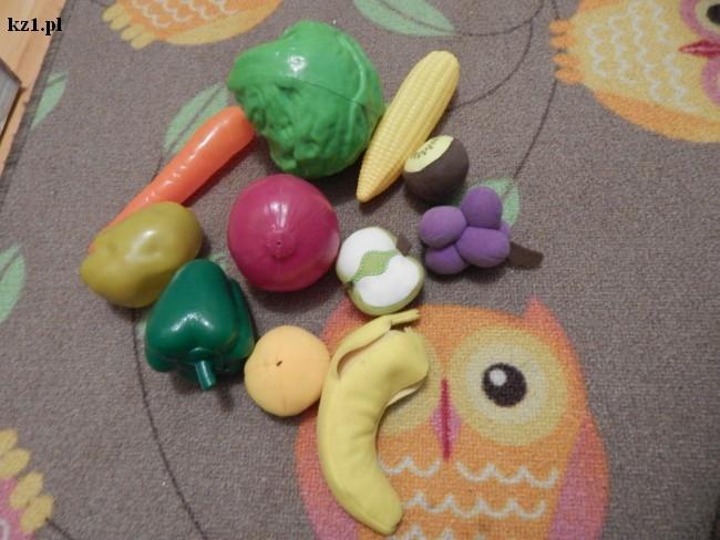 warzywa i owoce do zabawy