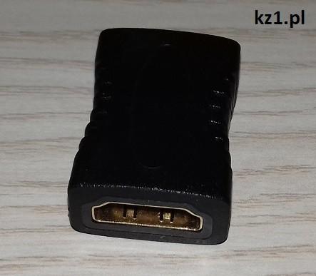adapter łącznik hdmi-hdmi żeński-żeński