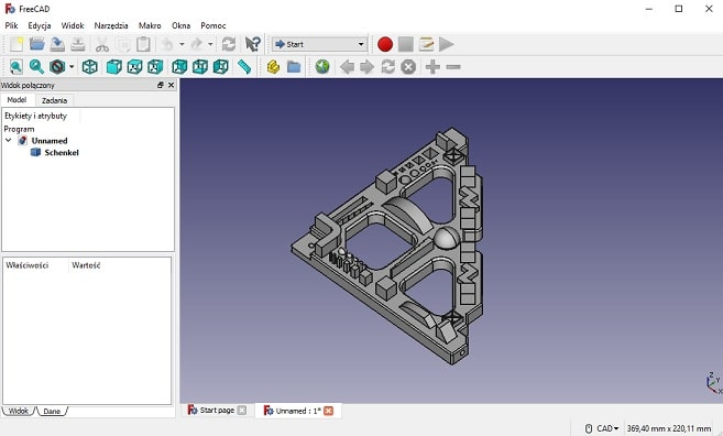program do projektowania freecad
