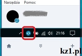 błąd połączenia skype