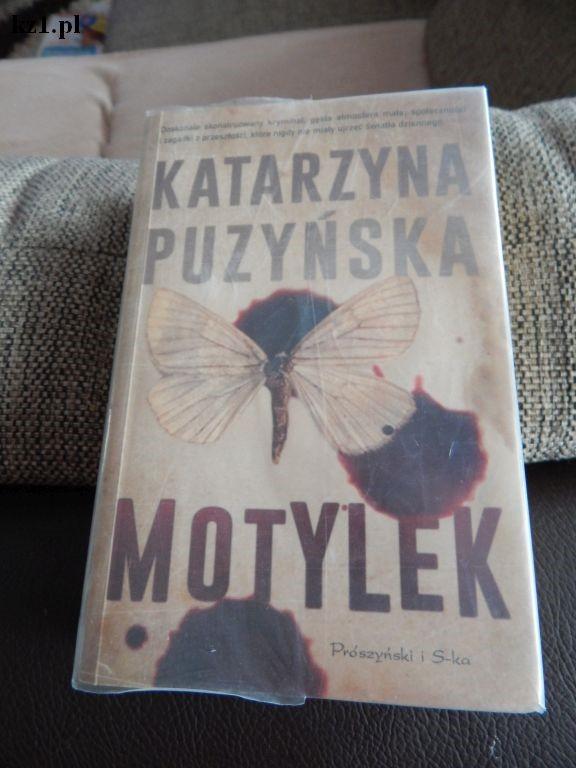 książka Motylek Katarzyna Puzyńska