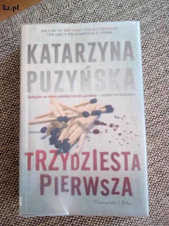 książka Trzydziesta pierwsza Katarzyna Puzyńska