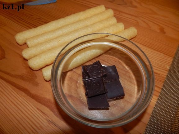 chrupki i czekolada