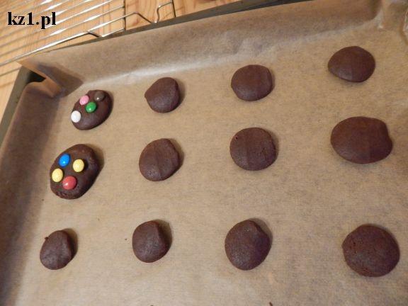 ciastka z cukierkami