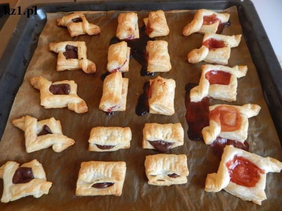 ciasteczka, sakiewki francuskie