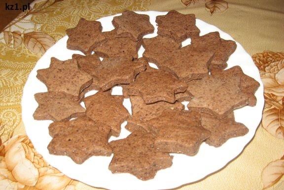 gwiazdki czekoladowe