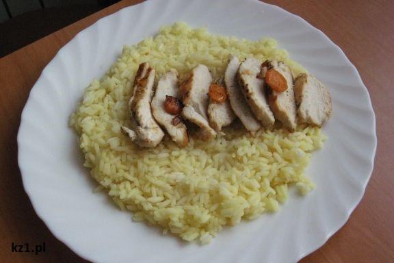 kurczak z kurkumą