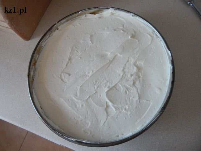 masa kremowa do ciasta arbuza