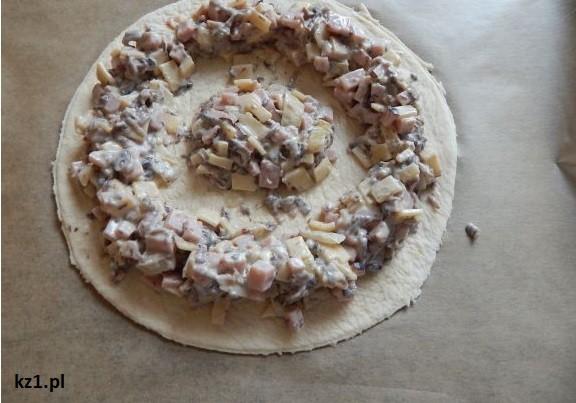 okrągła pizza