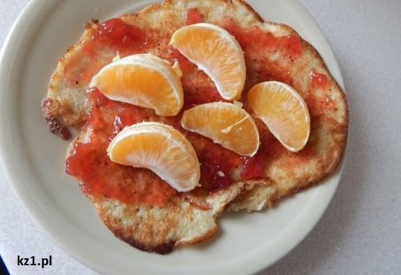 omlet owsiany na słodko