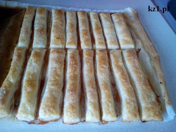 paluszki z ciasta francuskiego