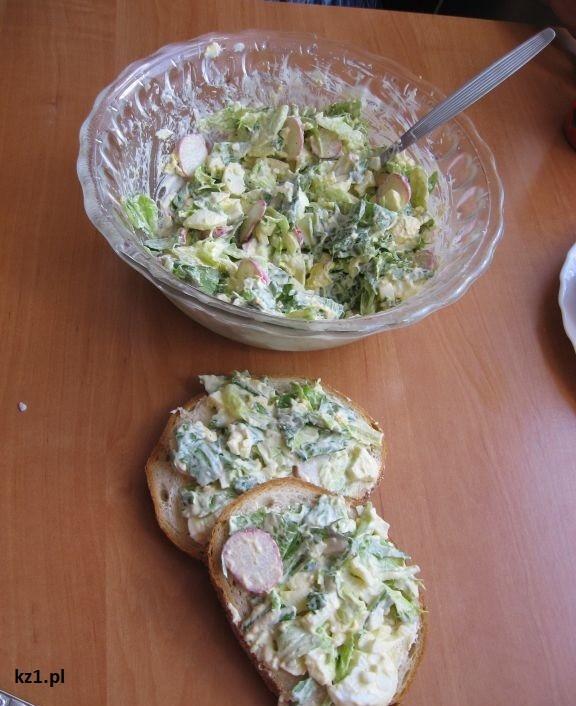 pasta jajeczno-warzywna