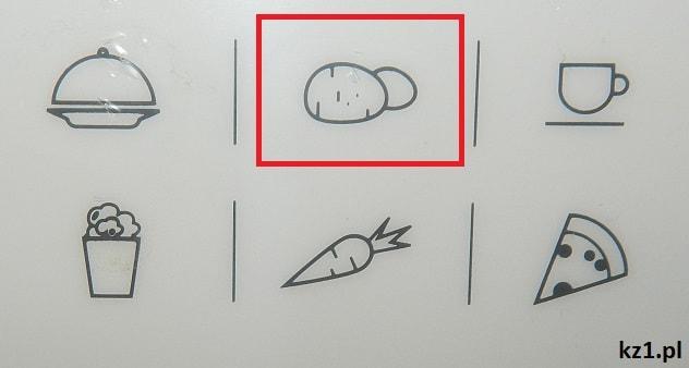 program ziemniaki w mikrofali