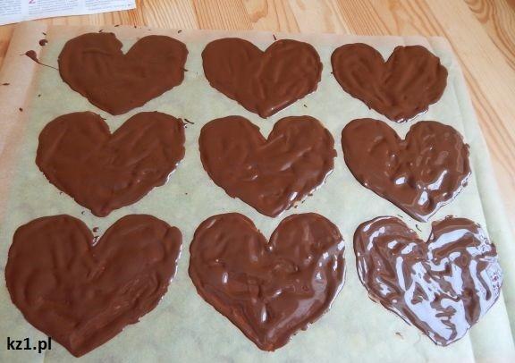 serca z czekolady