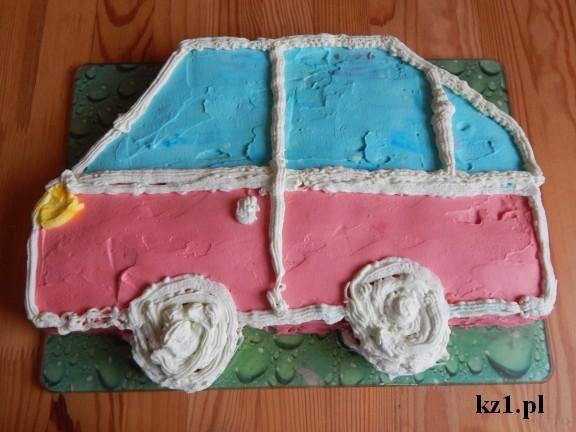 torcik samochód jak zrobić ciasto na urodziny