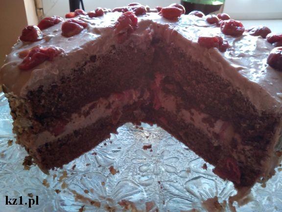 tort węgierskie z wiśniami