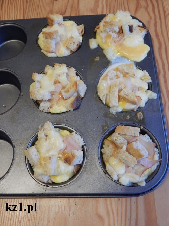 muffinki z chleba