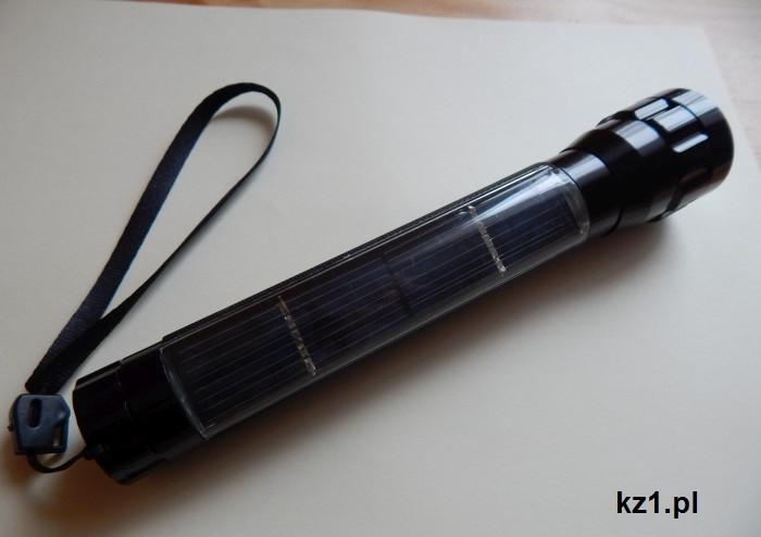 latarka solarna