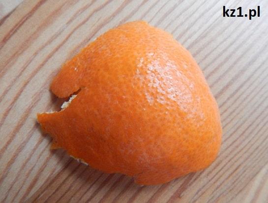 mandarynka skórka