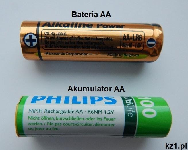 bateria i akumulator AA