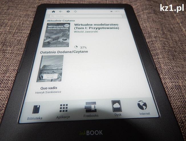 biblioteka w czytniku inkbook