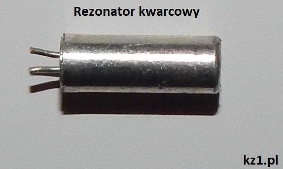 rezonator kwarcowy