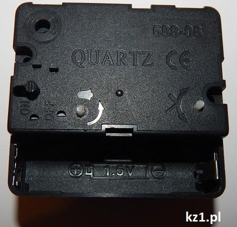 mechanizm zegara quartz
