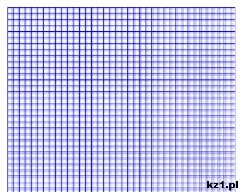 papier milimetrowy o kolorze niebieskim