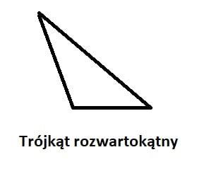 trójkąt rozwartokątny