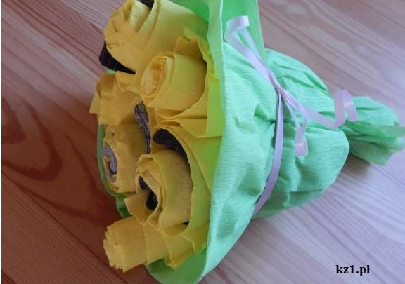 skarpetki w bukiecie