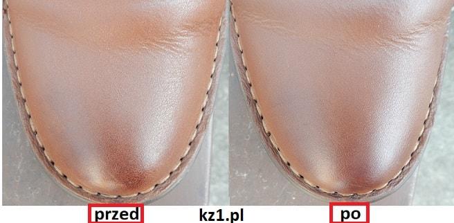 konserwacja skóry licowej