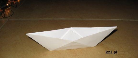 łódka z origami