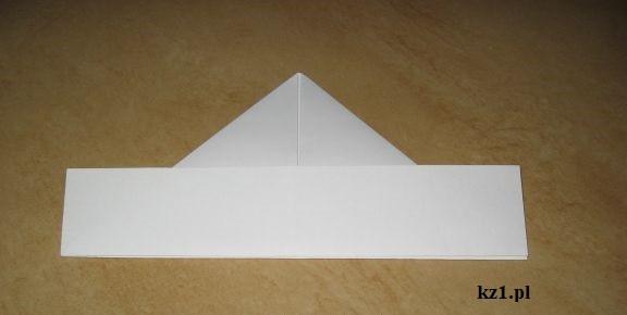 czapka origami