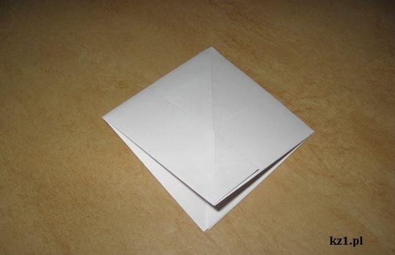 żaba z papieru