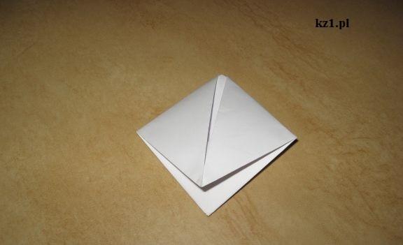 żabka z origami