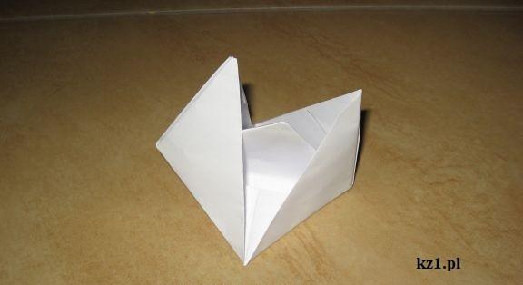 łódź z origami