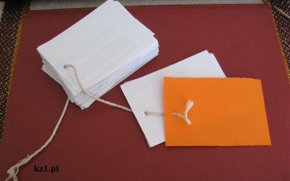 notes z kartek