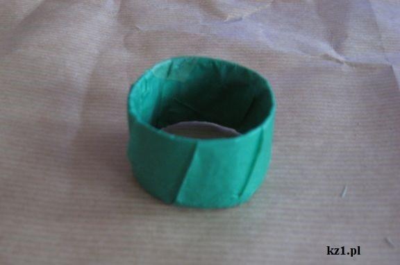 zielone obrączki na serwetki
