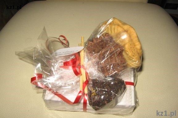prezent z ciasteczkami