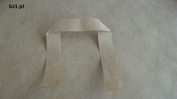 uszy do papierowej torebki