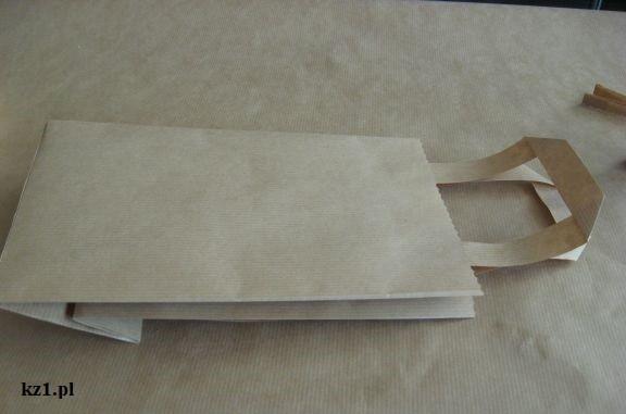 papierowa torebka na prezenty do zrobienia
